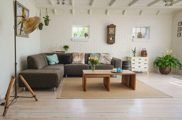 Hirdetéshez fotózott nappali